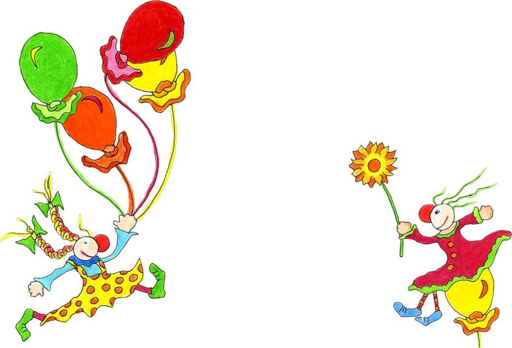 Die Zambalinis sind professioneller Clowninnen aus dem Raum Köln und machen Clowntheater für Kinder..